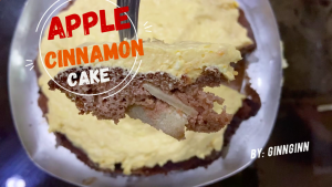 ชีสเค้ก apple cinnamon แบบ healthy